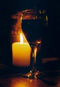 Candle_and_Wine_Glass_by_TaoDragon