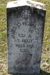howington James C Howington Headstone