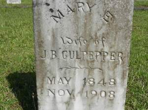 culpepper, mary e molly mcfarland