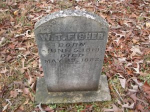fisher william thomas headstone, callies father