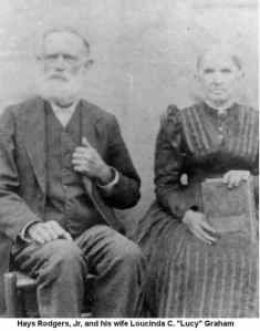 Hays Rodgers Jr and wife Lucinda Graham