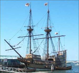 merchant ship replica