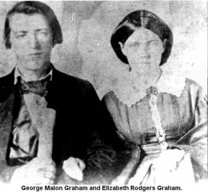 rodgers elizabeth and husb george malon graham, daug of hays g