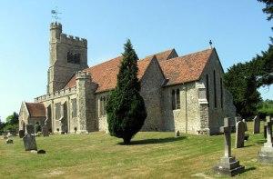 St_John_the_Baptist,_Harrietsham,_Kent built in the 11th century
