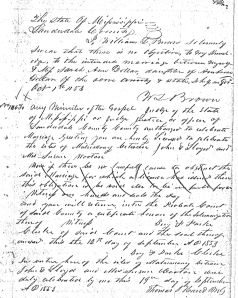 william lafayette brown and sarah dollar marriage license