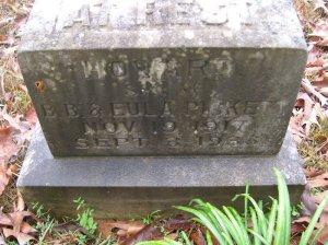 pickett howard benjamin headstone