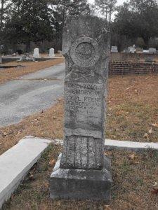 t g l keene headstone