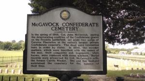 mcgavock confererate cemetery