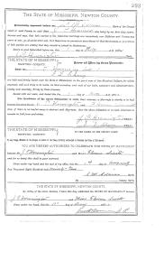 john thomas howington florence j smith marriage record