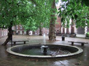 Fountain Court at Middle Temple