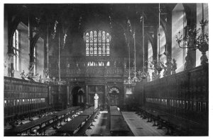 middle temple hall black and white