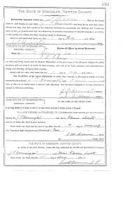 john thomas howington florence j smith marriage record