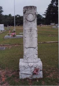 Ora Blanks Bates headstone