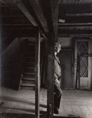 1960 otto frank visiting attic the only survivor