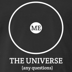 Me.-Center-of-the-Universe-T-Shirts