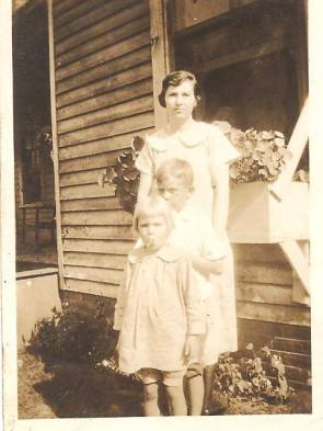 Eula Keene Pickett with Howard and Azalea
